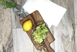 healthy lemon juice olive oil dressing