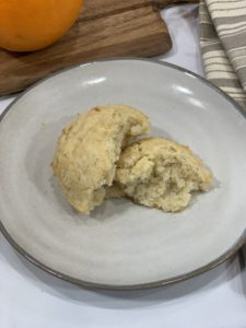 dairy free scone texture