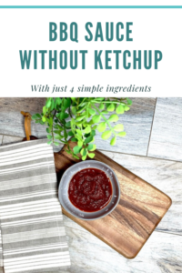 gluten free homemade bbq sauce without ketchup