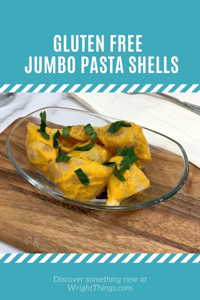 gluten free jumbo large pasta shells