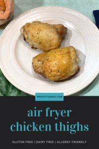 air fryer chicken thighs healthy marinade