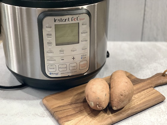 cooking sweet potatoes in instant pot