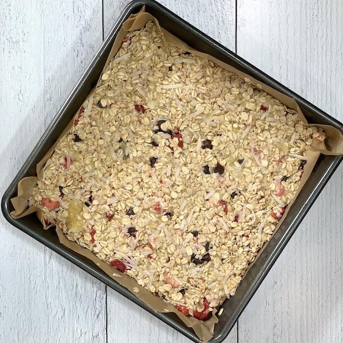 gluten free oat snack bars