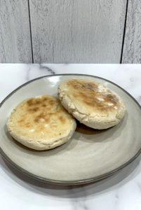 gluten free vegan English muffins dairy free