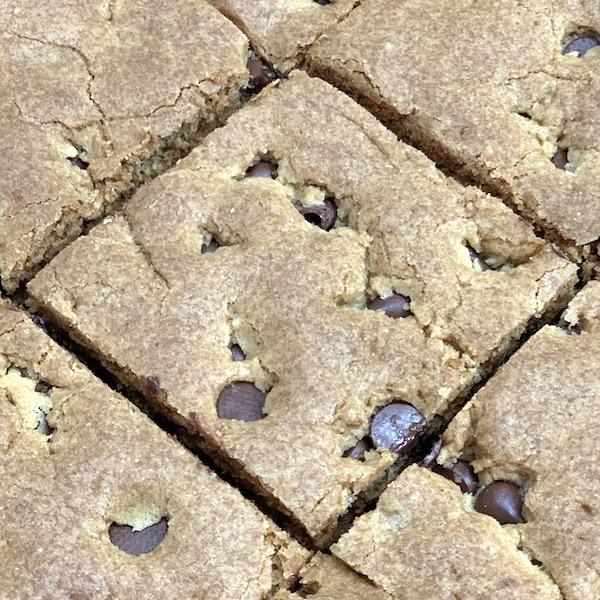 king arthur gluten-free blondies dairy free nut free