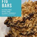 easy oatmeal fig bars fig newton