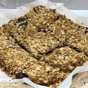 vegan oatmeal fig bars