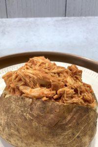 instant pot shredded bbq chicken easy
