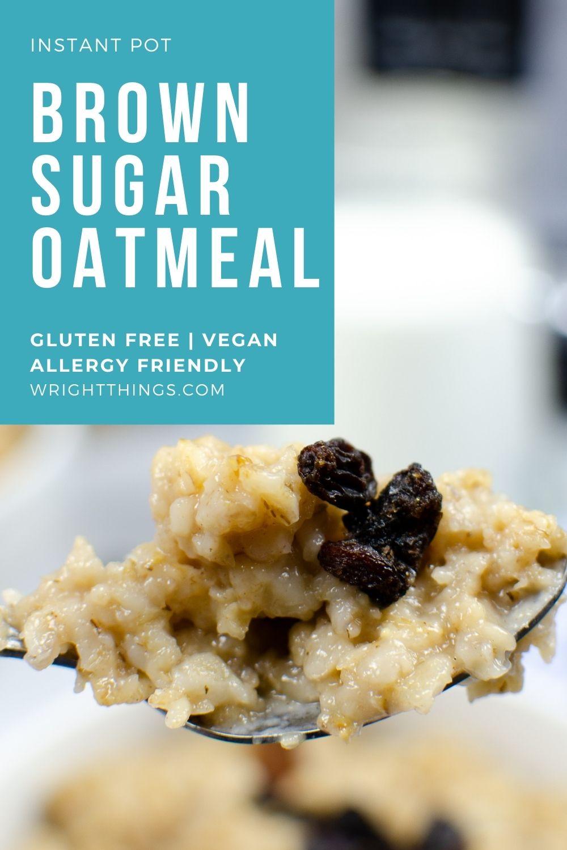 brown sugar oatmeal recipe instant pot
