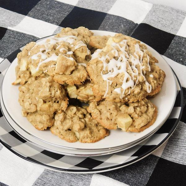 apple oatmeal cookies no egg