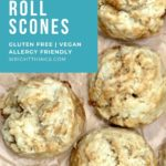 cinnamon roll scones without butter