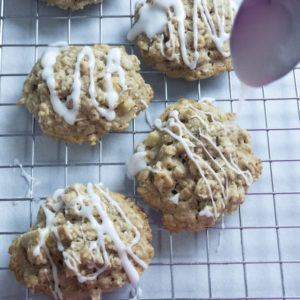dairy free apple cookies