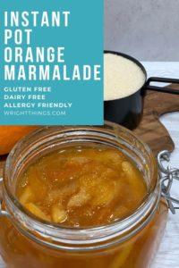 instant pot orange marmalade