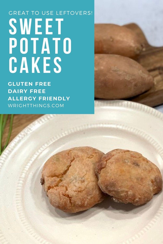 vegan sweet potato cakes