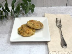 recipe for mashed potato and corn cakes gluten free vegan